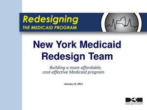 medicaid-redesign